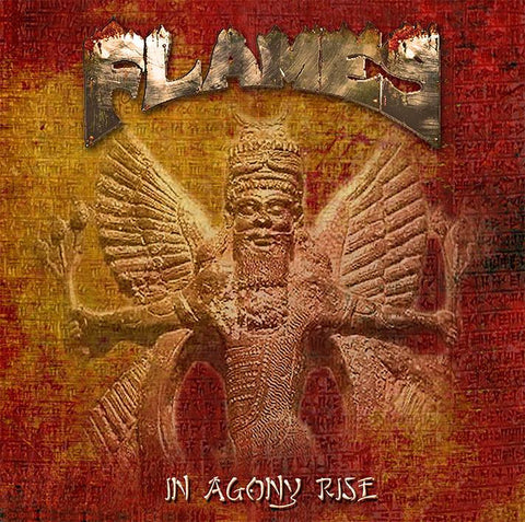 Flames ‎'In Agony Rise' - Cargo Records UK - 1