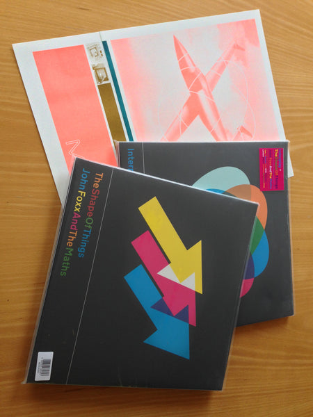 John Foxx & The Maths 'Interplay/The Shape Of Things' - Cargo Records UK