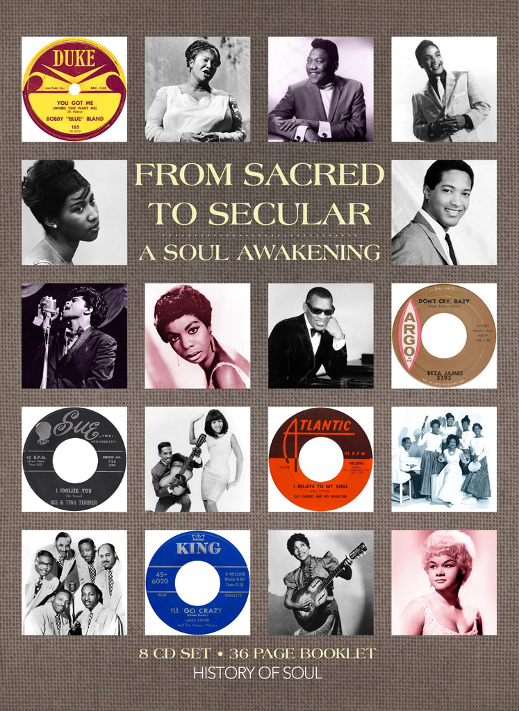Various Artists 'A Soul Awakening - From Sacred To Secular' - Cargo Records UK