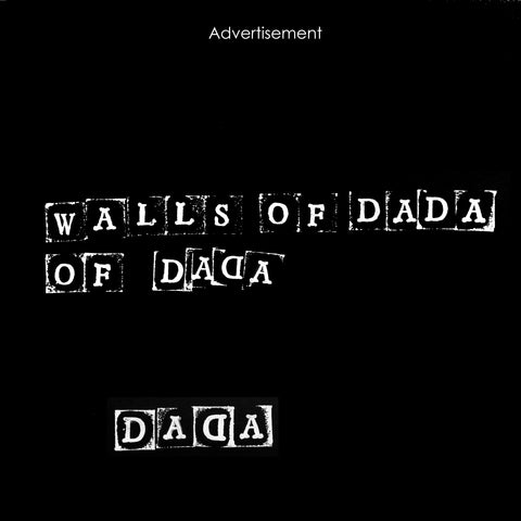 Walls Of Dada 'Walls Of Dada II' Vinyl LP - White