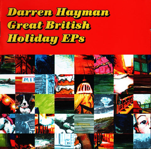 Darren Hayman ‎'Great British Holiday EPs' - Cargo Records UK