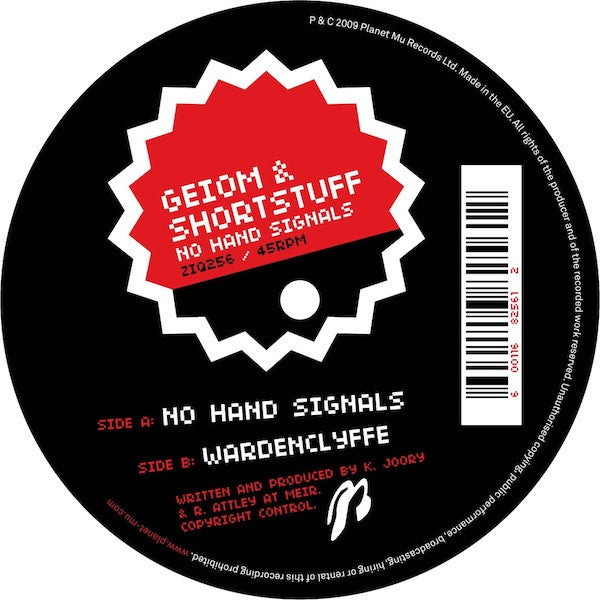 Geiom And Shotstuff 'No Hand Signals' - Cargo Records UK
