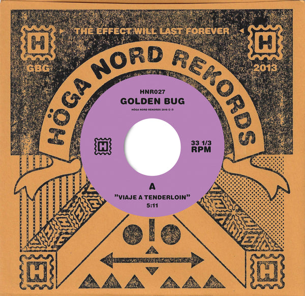 Golden Bug 'Viaje A Tenderlion / Hitodoma' Vinyl 7