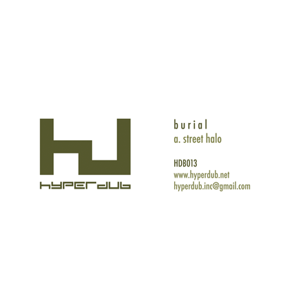 Burial 'Street Halo' - Cargo Records UK