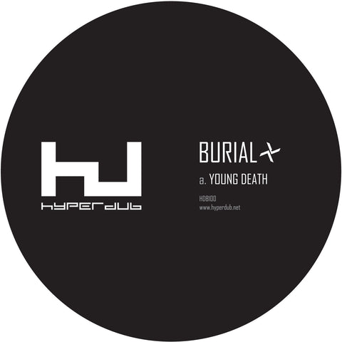 Burial 'Young Death / Nightmarket' - Cargo Records UK - 1