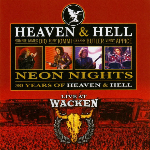 Heaven & Hell 'Neon Nights (Live At Wacken 2009)' - Cargo Records UK