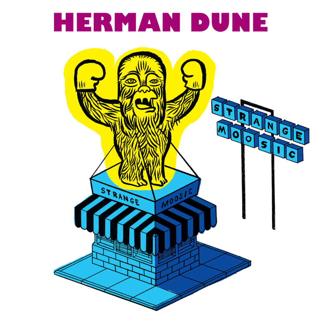 Herman Dune 'Strange Moosic' - Cargo Records UK