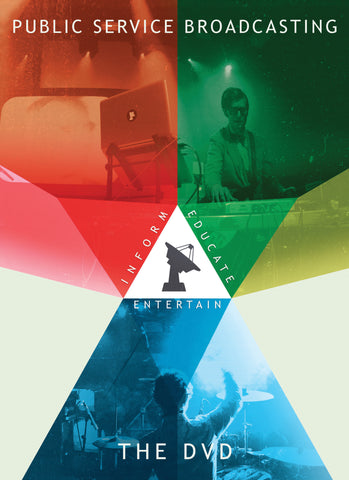 Public Service Broadcasting 'Inform Educate Entertain - The DVD' - Cargo Records UK