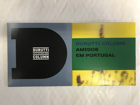 The Durutti Column 'Live At The Venue/Amigos Em Portugal' 2CD Bundle