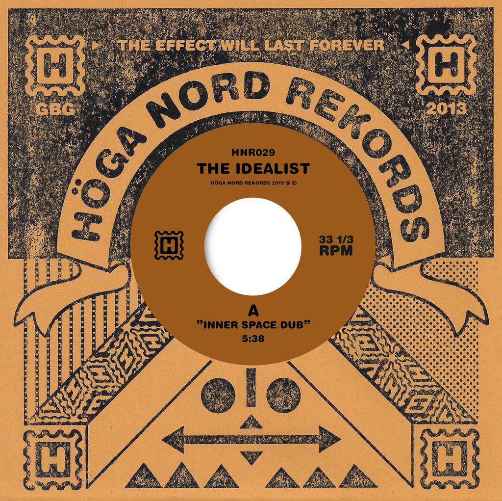 The Idealist 'Inner Space Dub / The Fire Of Moses Dub (feat. Genesis Breyer P-Orridge)' Vinyl 7