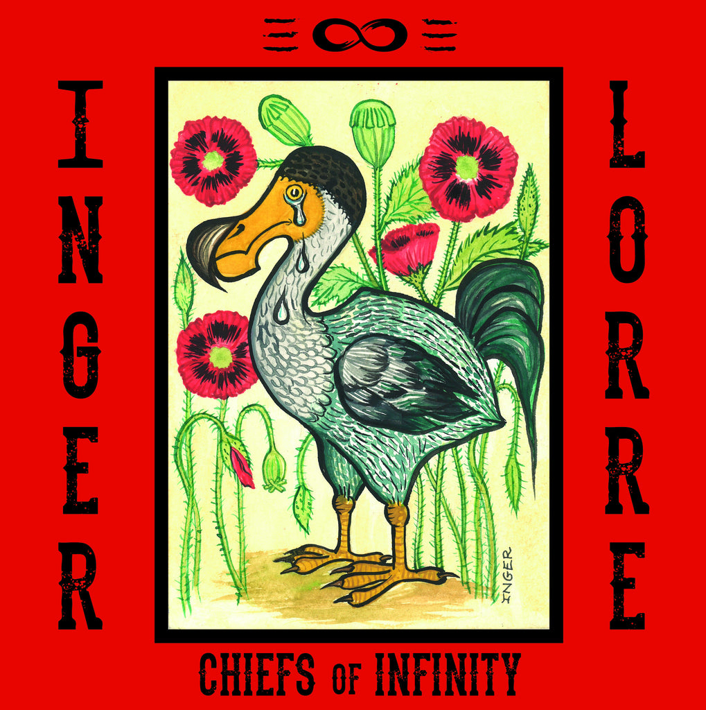 Inger Lorre & The Chiefs of Infinity 'Snowflake' - Cargo Records UK
