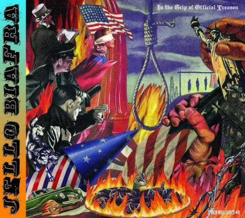 Jello Biafra 'In The Grip of Official Treason' Spoken Word Album #8 - Cargo Records UK