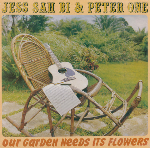 Jess Sah Bi & Peter One 'Our Garden Needs Its Flowers' PRE-ORDER