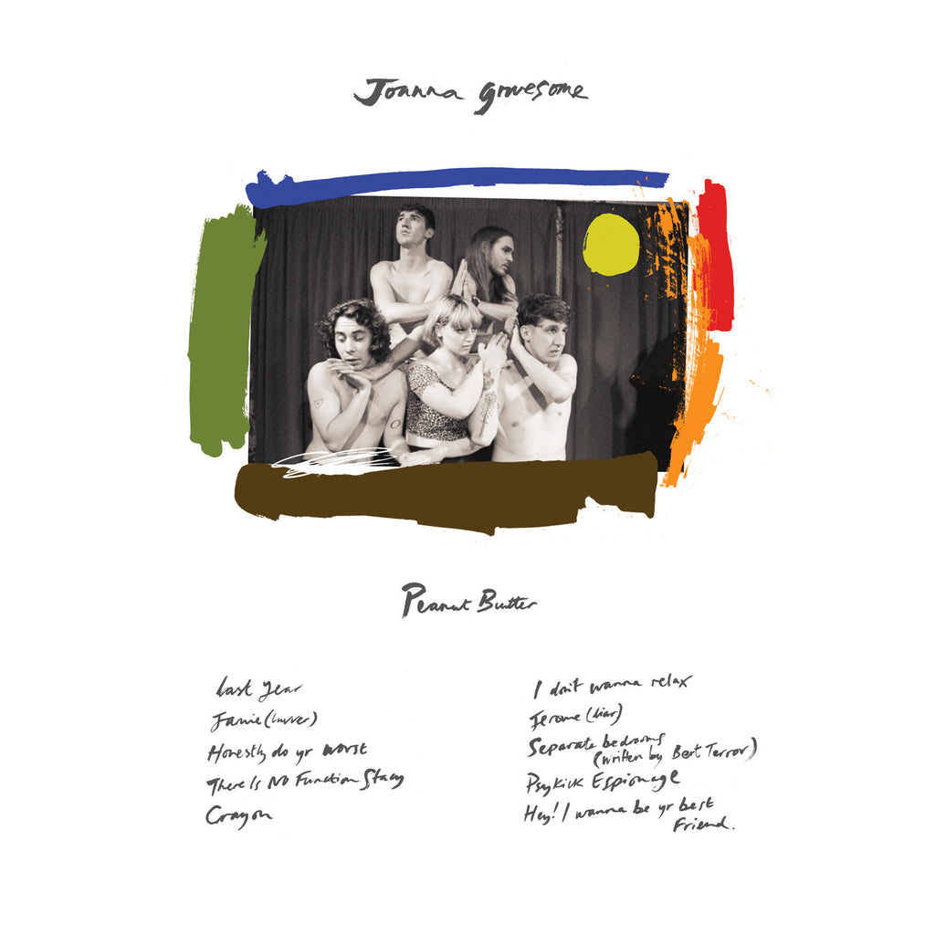 Joanna Gruesome 'Peanut Butter' - Cargo Records UK - 1