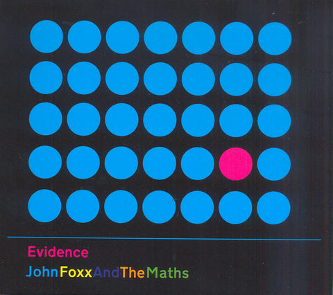 John Foxx And The Maths 'Evidence' - Cargo Records UK
