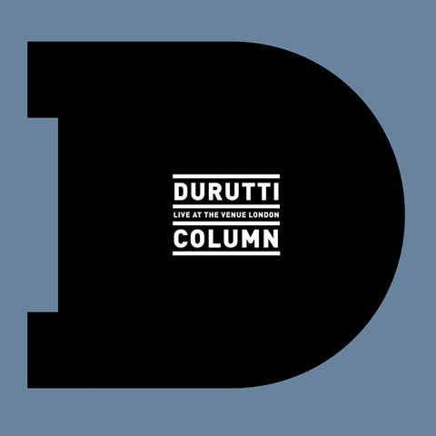 The Durutti Column 'Live At The Venue London' - Cargo Records UK