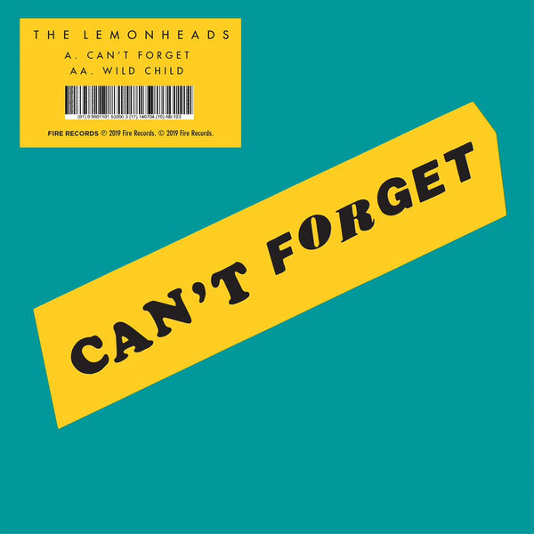 The Lemonheads 'Can't Forget / Wild Child' Vinyl 7