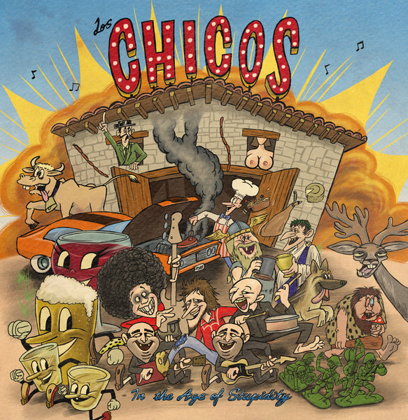 Los Chicos 'In The Age Of Stupidity' - Cargo Records UK