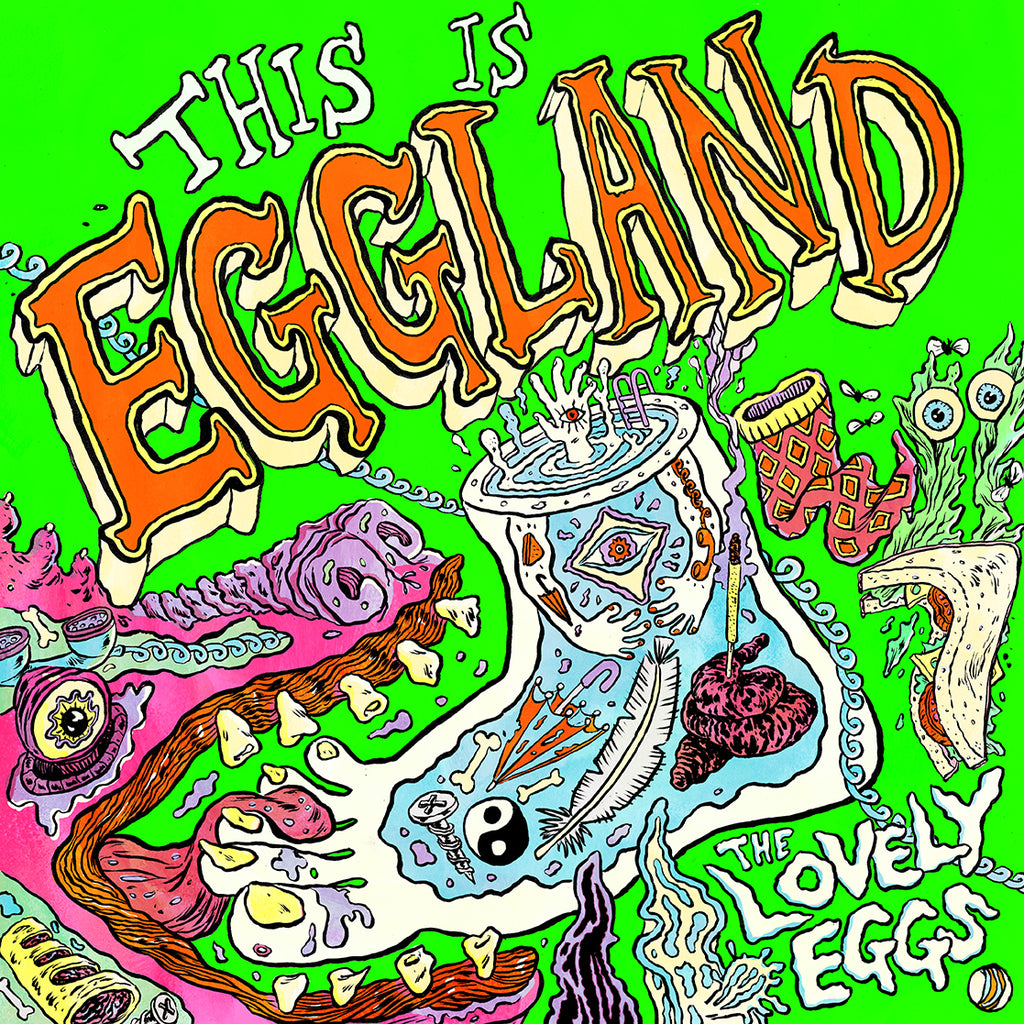 The Lovely Eggs 'This Is Eggland' - Cargo Records UK