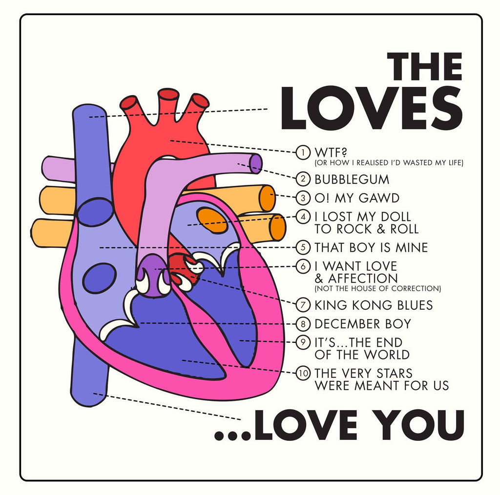 The Loves 'Love You' - Cargo Records UK