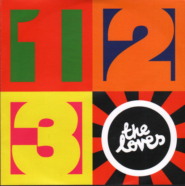 The Loves ‎'One-Two-Three EP' Vinyl 7