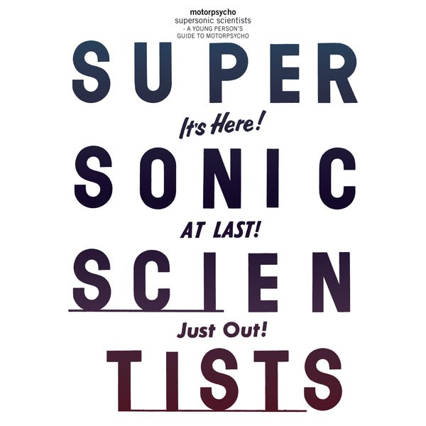 Motorpsycho 'Supersonic Scientists' 2CD