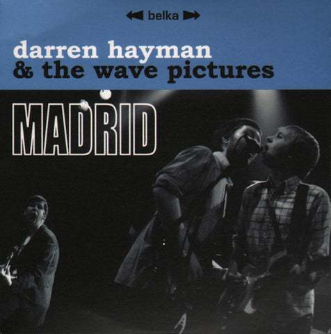 Darren Hayman & The Wave Pictures 'Madrid' - Cargo Records UK