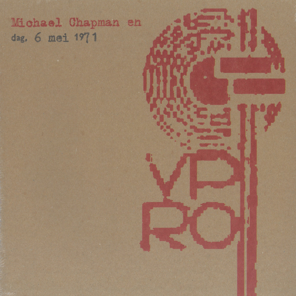 Michael Chapman 'LIVE VPRO 1971' - Cargo Records UK