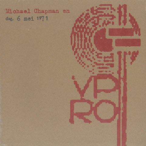 Michael Chapman 'LIVE VPRO 1971' PRE-ORDER - Cargo Records UK