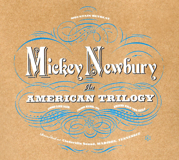 Mickey Newbury 'An American Trilogy' - Cargo Records UK