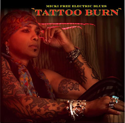 Micky Free Electric Blues 'Tattoo Burn' - Cargo Records UK