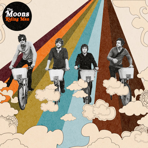 The Moons 'Riding Man' Vinyl 7