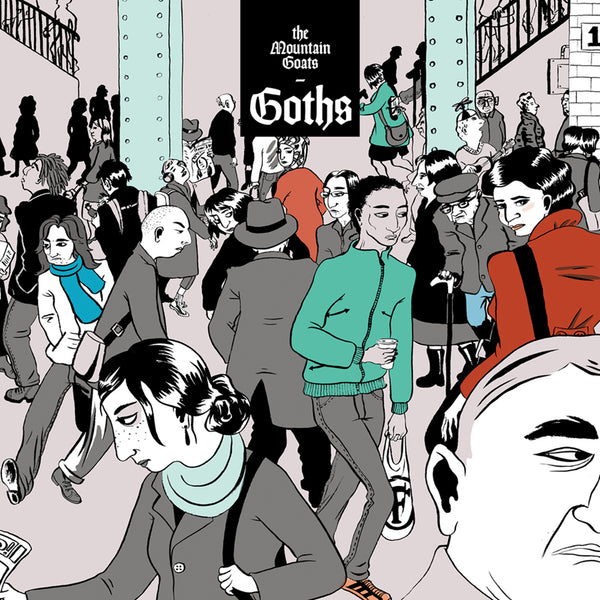 The Mountain Goats 'Goths' Vampire Red Vinyl 2xLP + Green 12