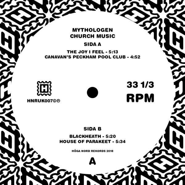 Mythologen 'Church Music' Vinyl 12