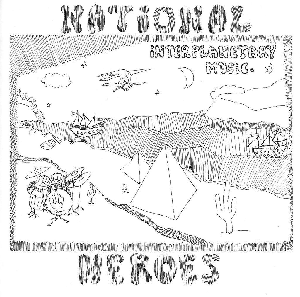 National Heroes 'Interplanetary Music' - Cargo Records UK