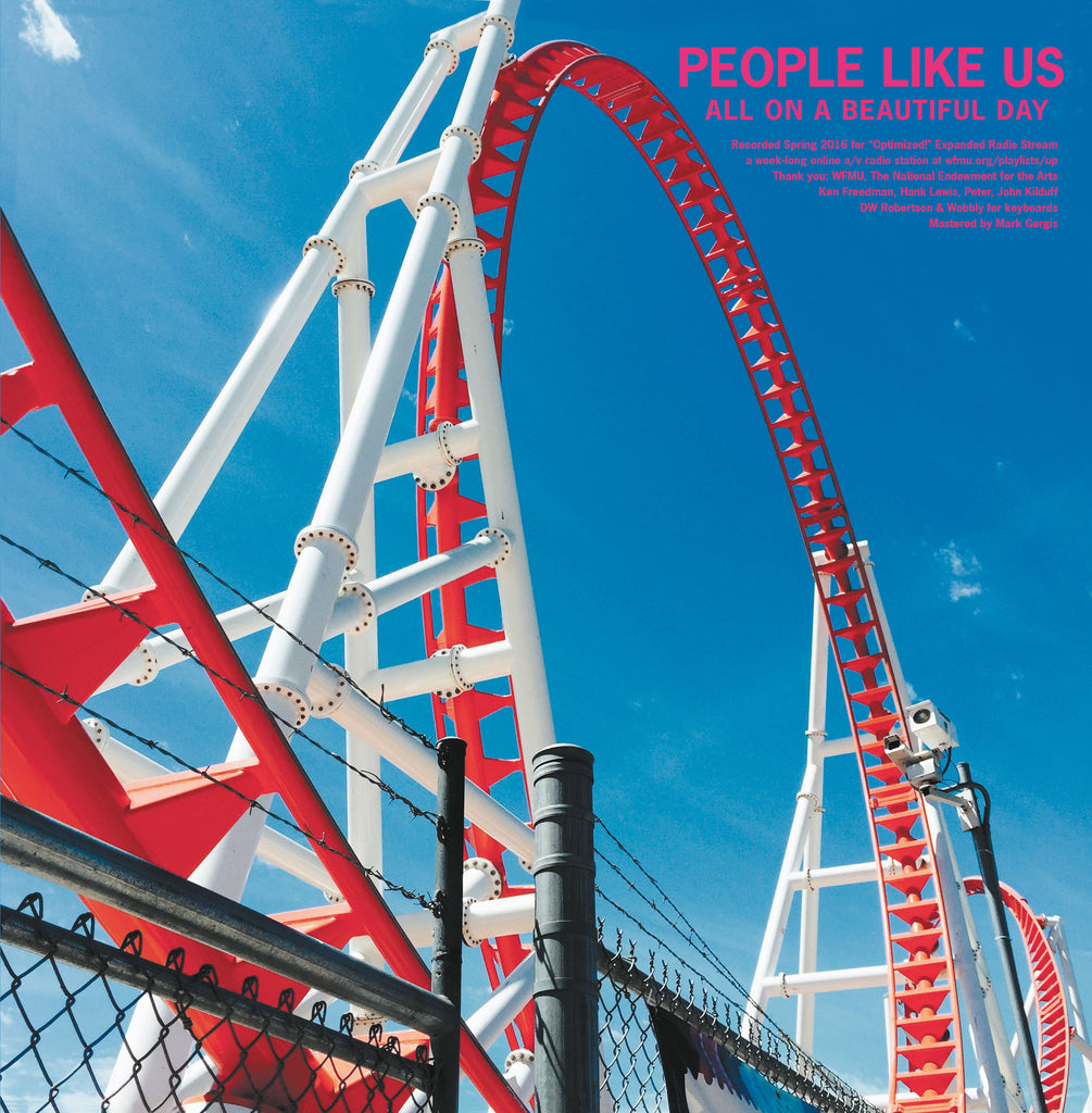 People Like Us / Porest 'Optimized!' - Cargo Records UK
