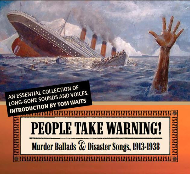 Various Artists 'People Take Warning! Murder Ballads' - Cargo Records UK