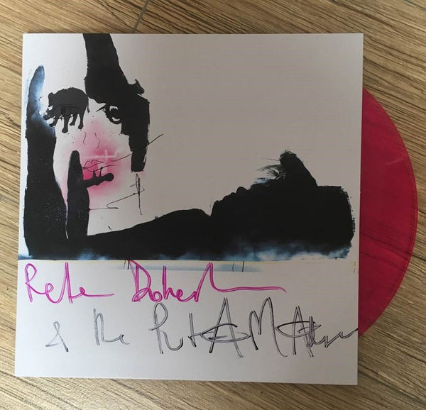 Peter Doherty & The Puta Madres 'Peter Doherty & The Puta Madres' Vinyl LP - Pink - Signed