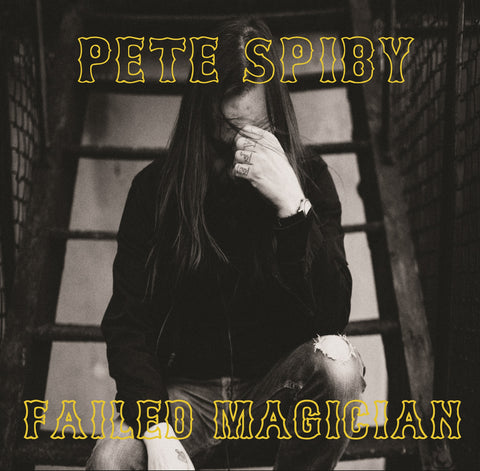 Pete Spiby 'Failed Magician' PRE-ORDER