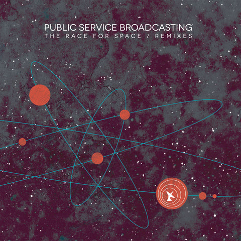 Public Service Broadcasting 'The Race For Space / Remixes' - Cargo Records UK - 1