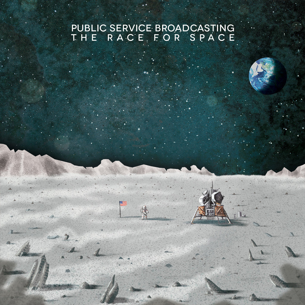Public Service Broadcasting 'The Race For Space' - Cargo Records UK - 1