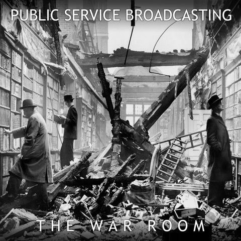Public Service Broadcasting 'The War Room EP' - Cargo Records UK