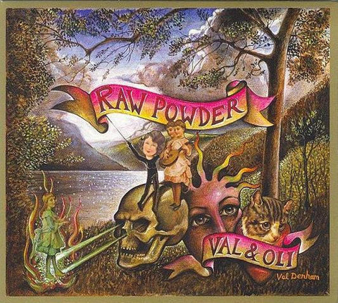 Val Denham & Oli Novadnieks 'Raw Powder' - Cargo Records UK