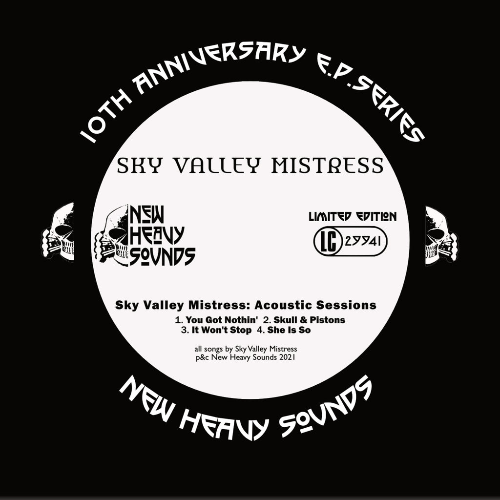 Sky Valley Mistress 'Acoustic Session EP' CD