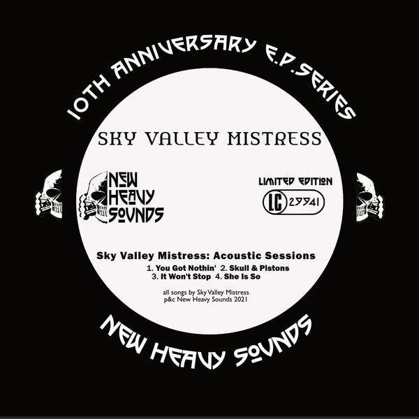 Sky Valley Mistress 'Acoustic Session EP' CD PRE-ORDER