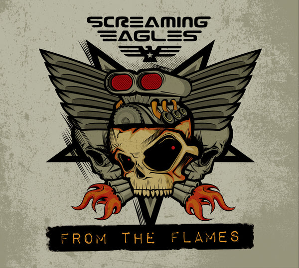 Screaming Eagles 'From The Flames' - Cargo Records UK