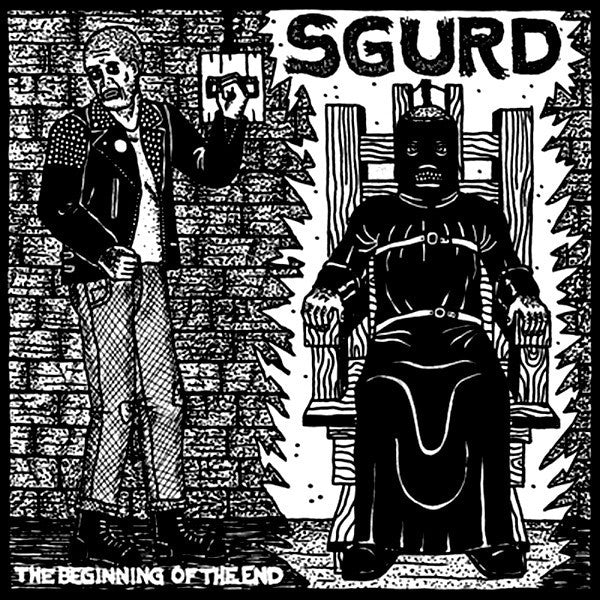 Sgurd ‎'The Beginning Of The End' - Cargo Records UK
