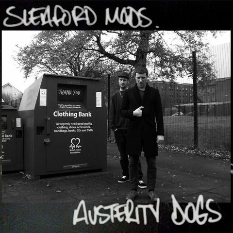 Sleaford Mods 'Austerity Dogs' Vinyl LP - Neon Yellow