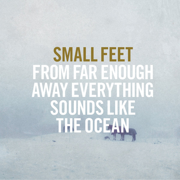 Small Feet 'From Far Enough Away Everything Sounds Like The Ocean' - Cargo Records UK