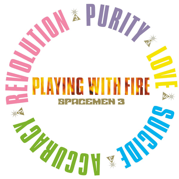 SPACEMEN 3 'Playing With Fire' - Cargo Records UK